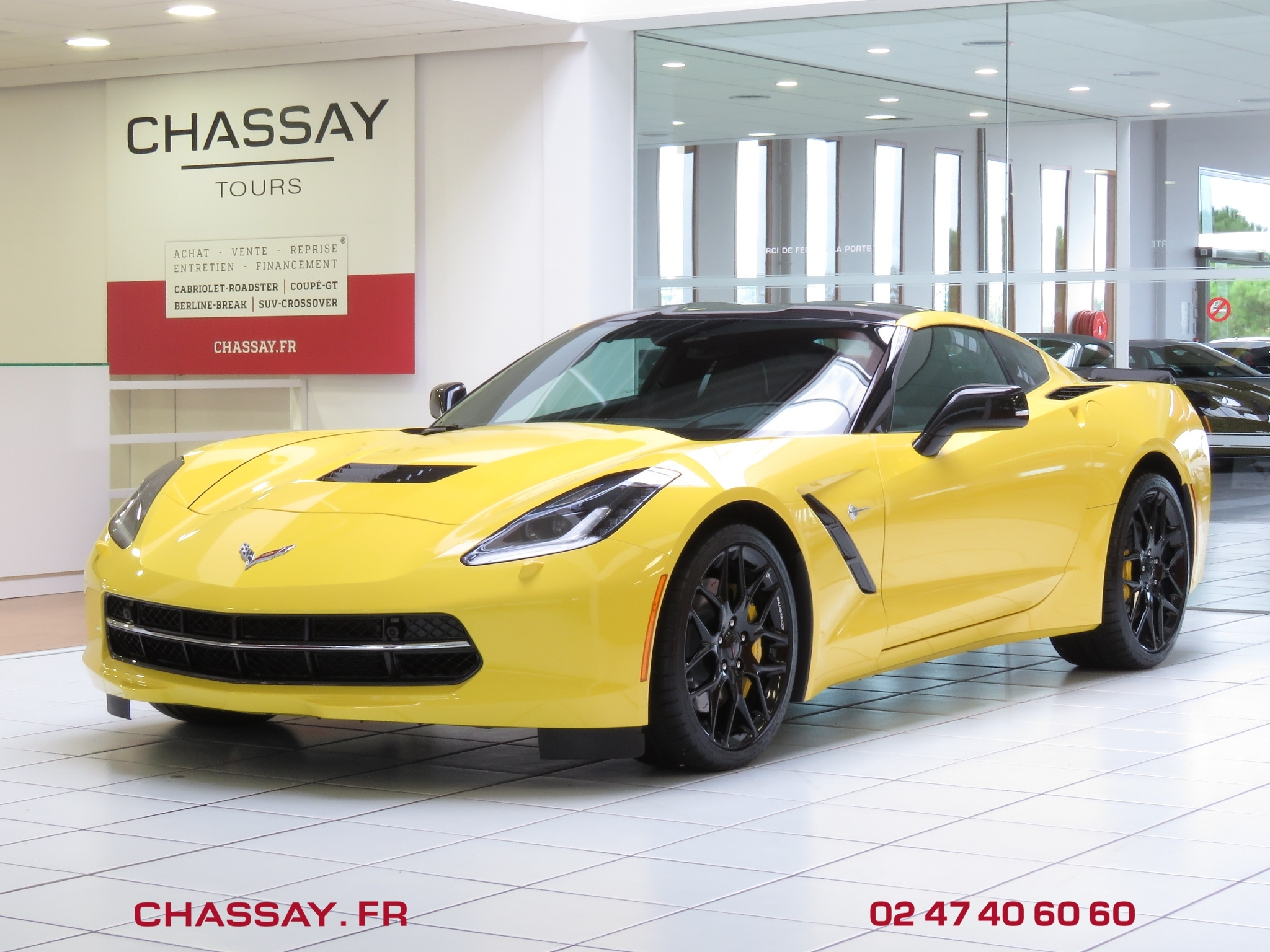 Corvette C7 Stingray C7 6.2 466 V8 avant