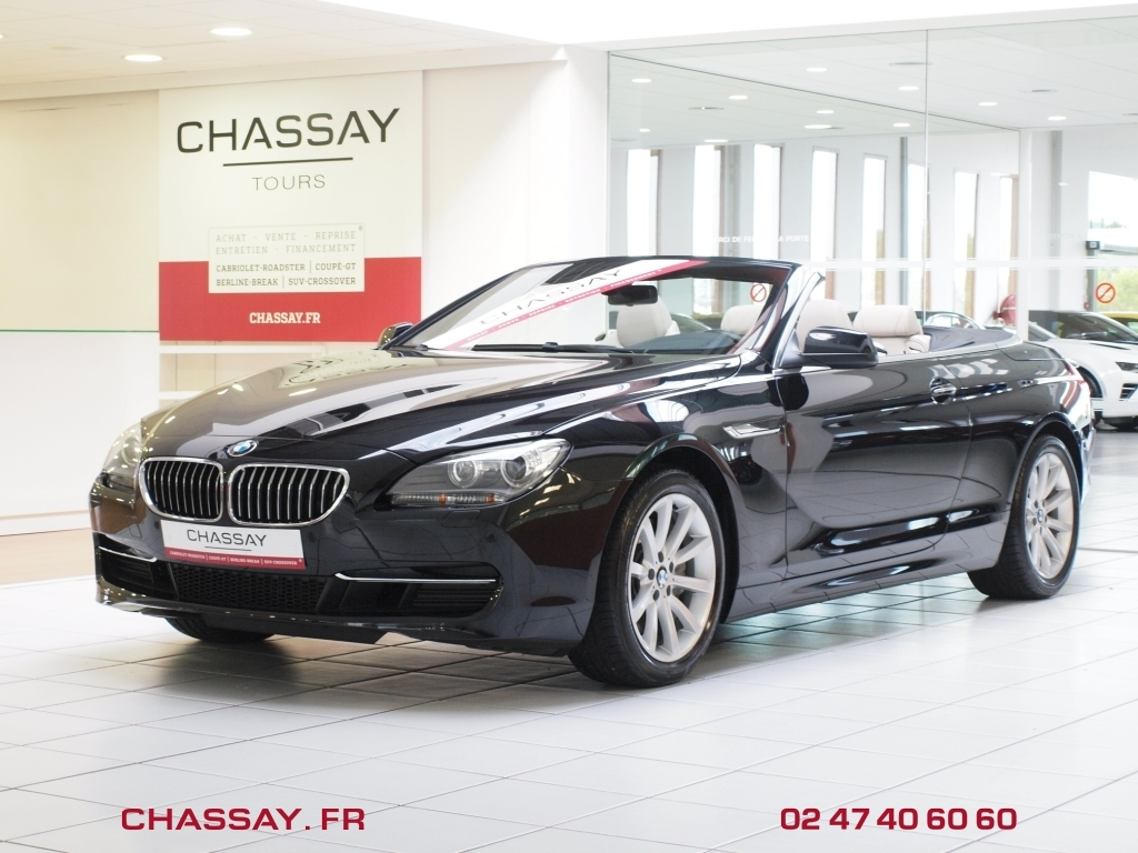 automobiles chassay tours bmw s rie 6 f12 cabriolet f12 2 luxe bva8 640d 313 en stock. Black Bedroom Furniture Sets. Home Design Ideas