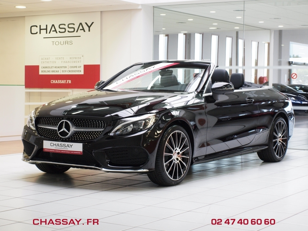 automobiles chassay tours mercedes classe c 4 cabriolet sportline 9g tronic 250 en stock. Black Bedroom Furniture Sets. Home Design Ideas