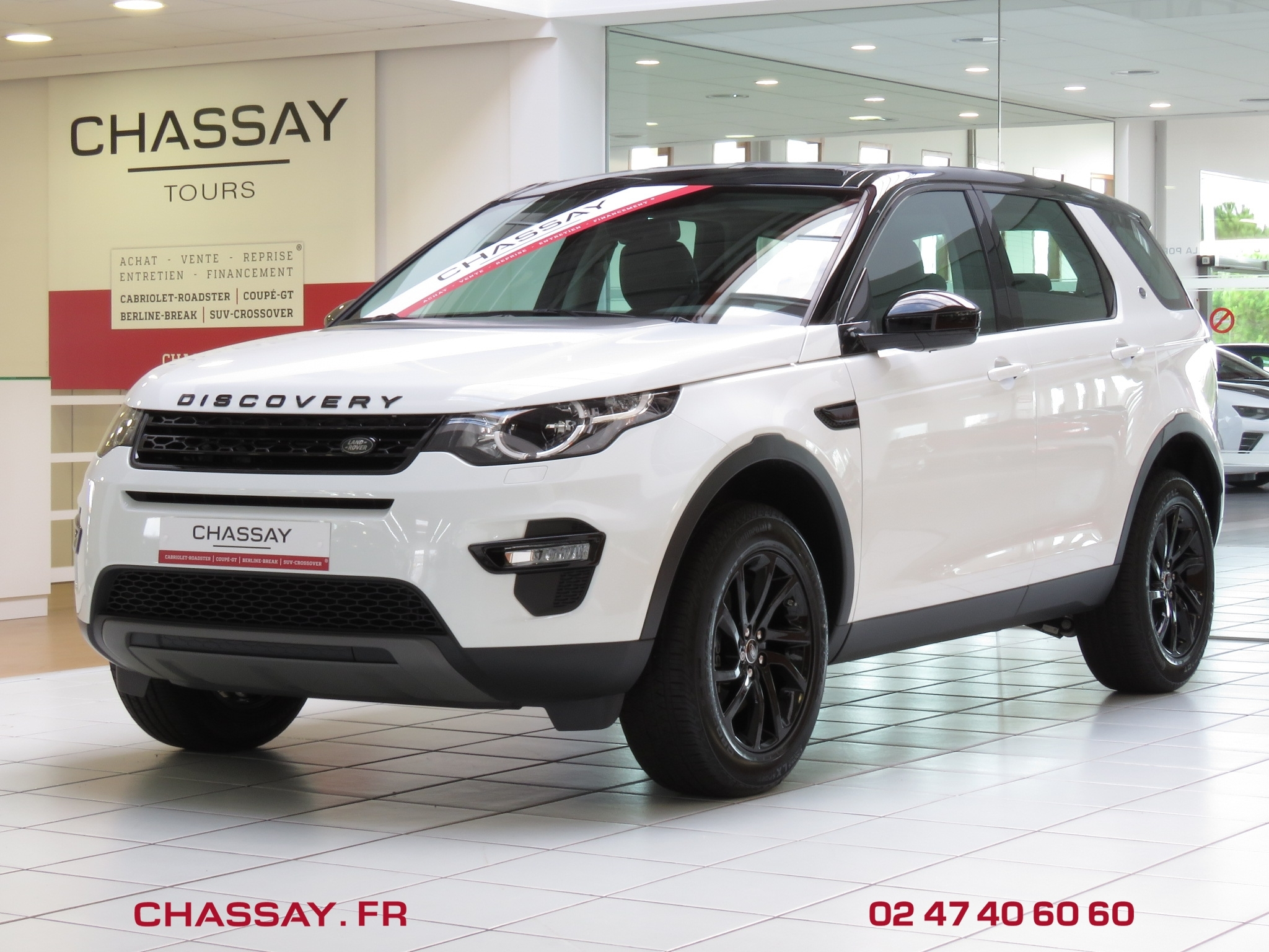 Land Rover Discovery Sport 2.0 TD4 150 avant
