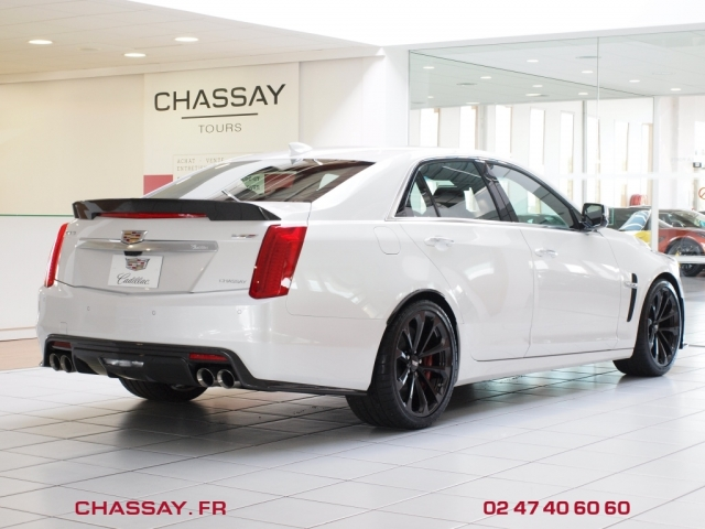 Cadillac CTS-V 6.2 V8 Supercharged 650 arrière