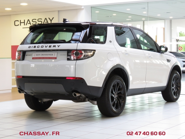 Land Rover Discovery Sport 2.0 TD4 150 arrière